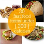 Fast Food Menu Items Under 12 Calories – Food Recipes Under 300 Calories