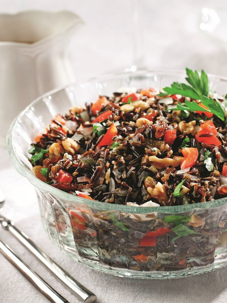 Fiesta Wild Rice - Rice Recipes Gluten Free