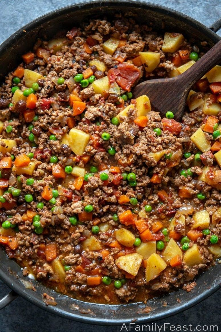 Filipino Picadillo - A Family Feast® - Vegetable Recipes In The Philippines