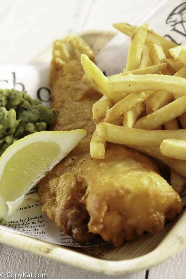 Fish and Chips in Beer Batter - Recipes Fish Batter For Deep Frying