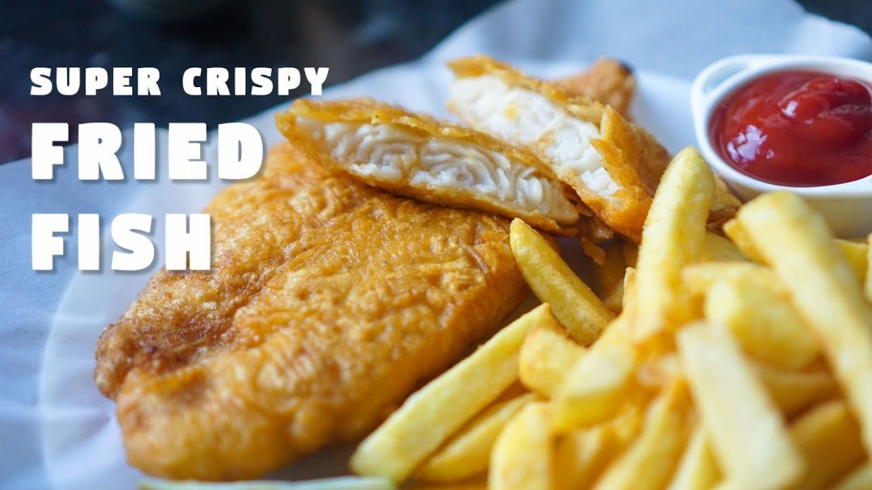 Fish Batter Recipe | Super Crispy Fried Fish | Hungry for Goodies - Recipes Fish Batter For Deep Frying