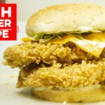 Fish Burger Recipe | KFC Crispy Fish Burger | Kun Foods – Recipe Of Fish Zinger