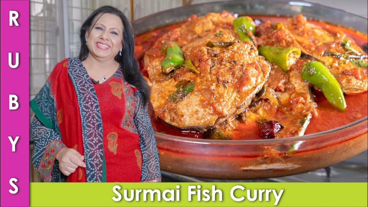 Fish Curry Surmai Machli ka Salan Recipe in Urdu Hindi - RKK - Urdu Recipes Fish Ka Salan