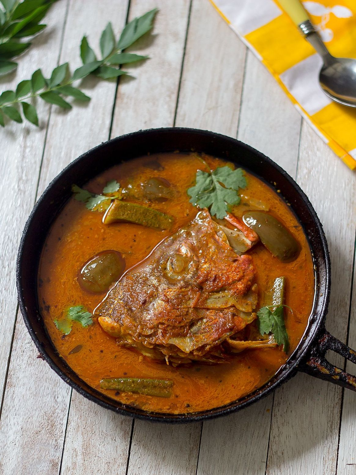 Fish Head Curry | How to make Singapore Fish Head Curry | Meen ..