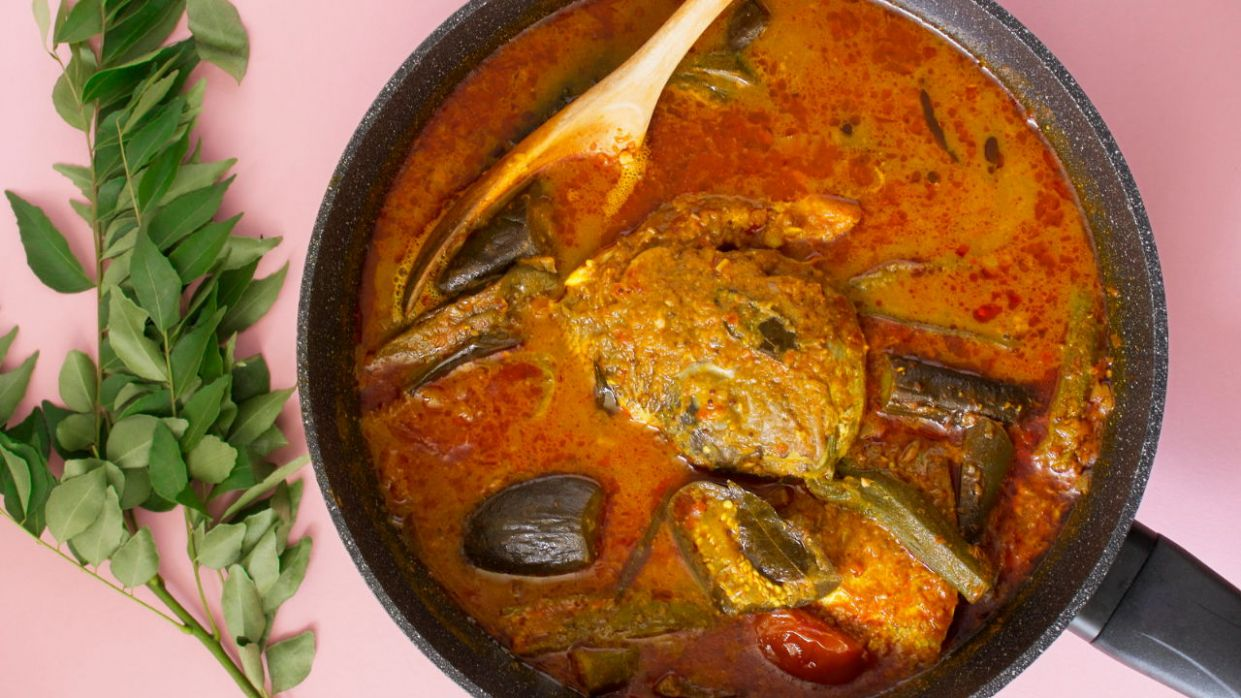 Fish Head Curry - Recipe Fish Head Curry Singapore