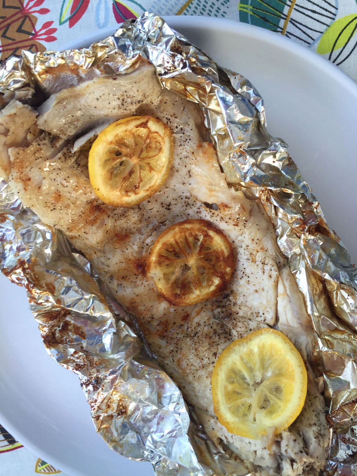 Fish In Foil Packets Recipe (Grilled or Baked)! - Recipe Fish On The Grill In Foil