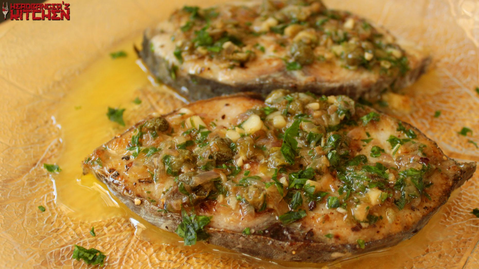 Fish in Lemon Butter Caper Sauce - Recipe Fish With Capers