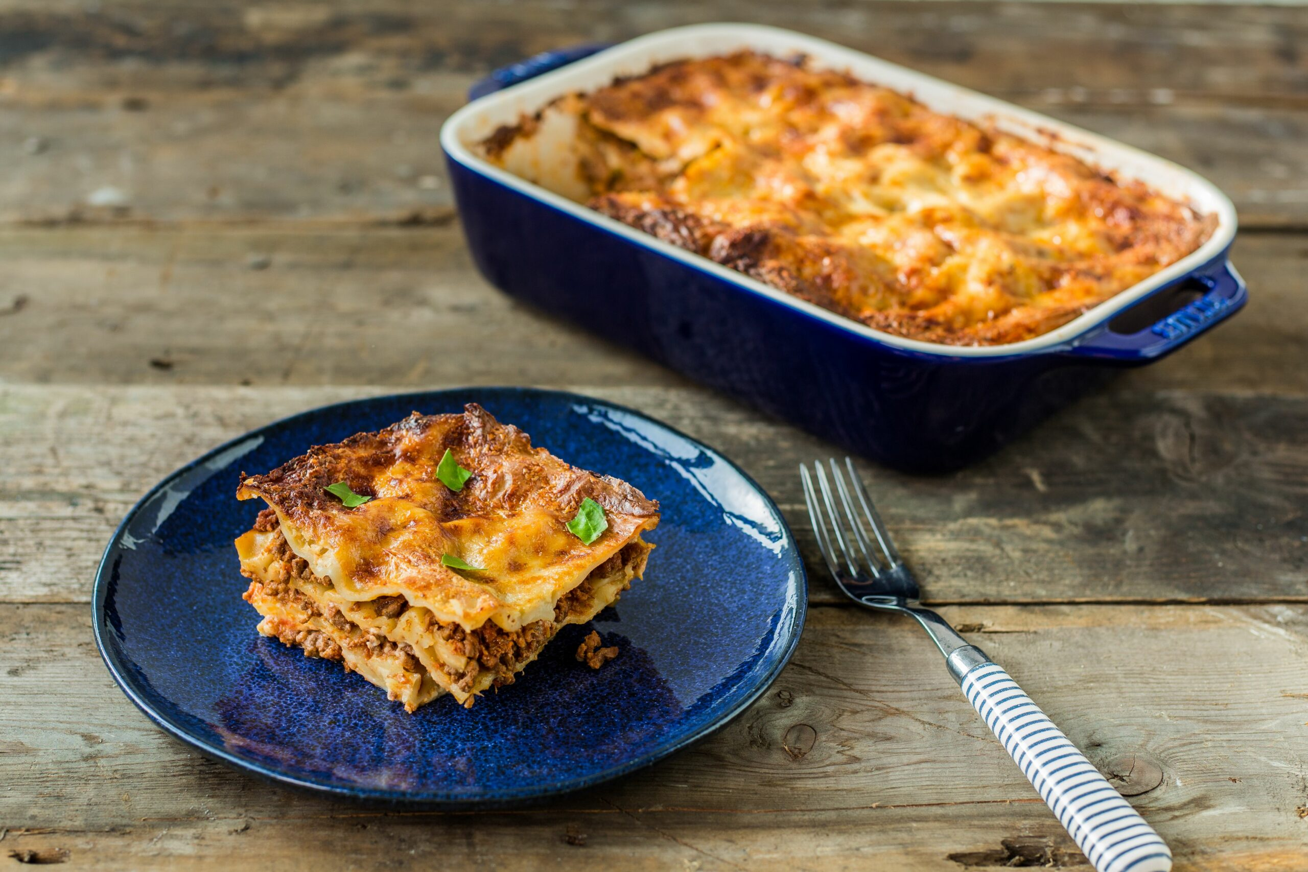 Fish lasagne with cheesy topping - Recipe Fish Lasagne