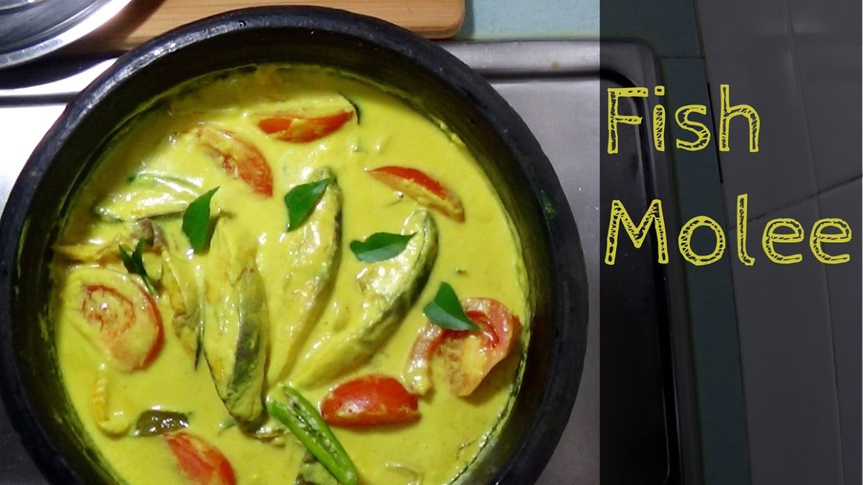 Fish Molly / Fish Molee / Fish Moilee - Kerala Recipe for Fish Stew - Recipe Fish Molee