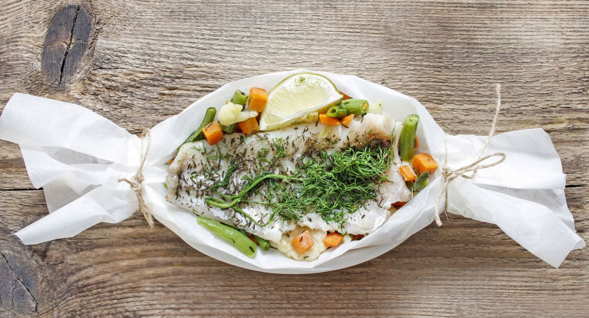 Fish Parcels With Vegetables | Cabot Health - Recipes Fish Parcels