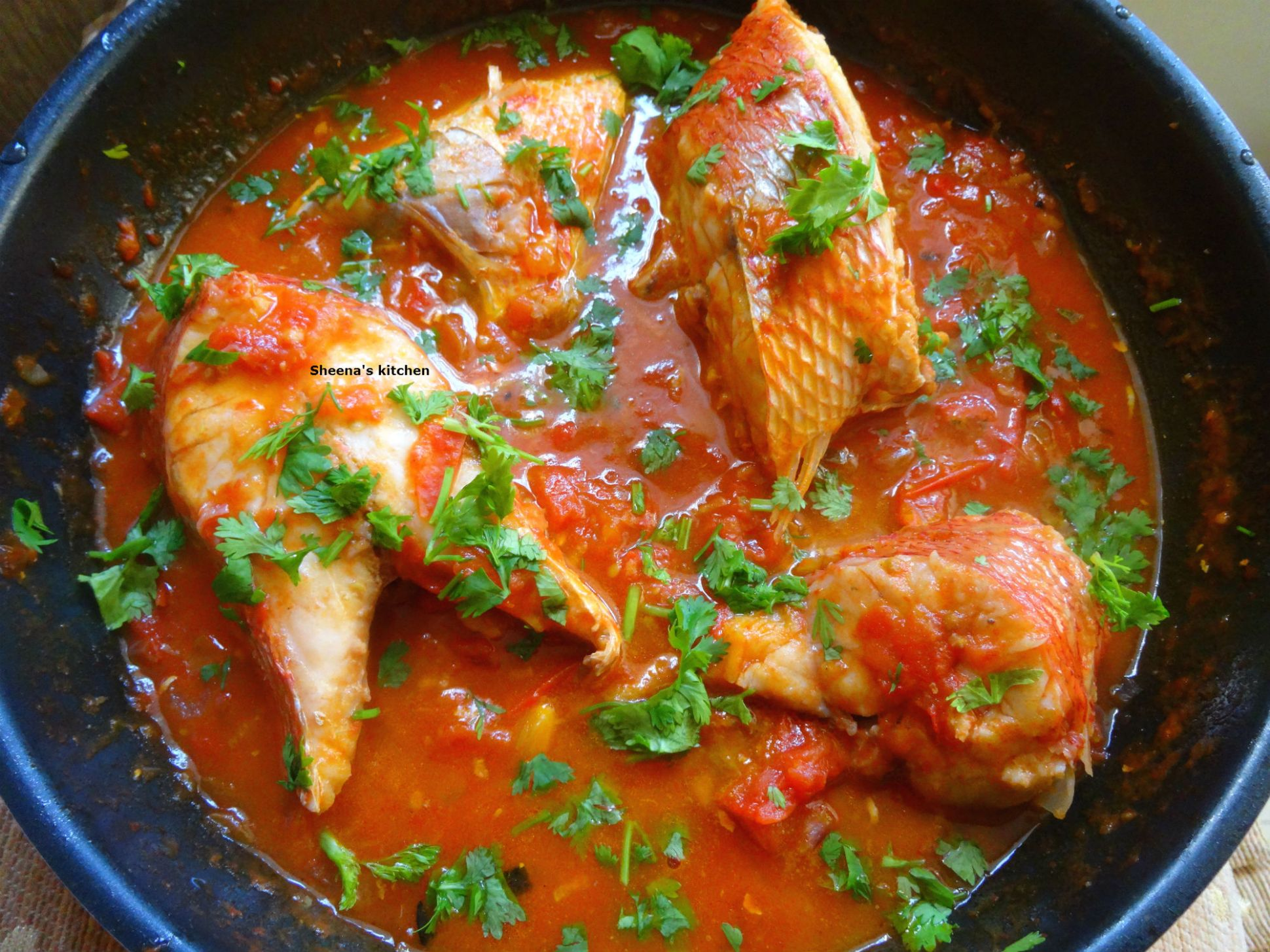 Fish Stew Kenya Style - Sheena's Kitchen