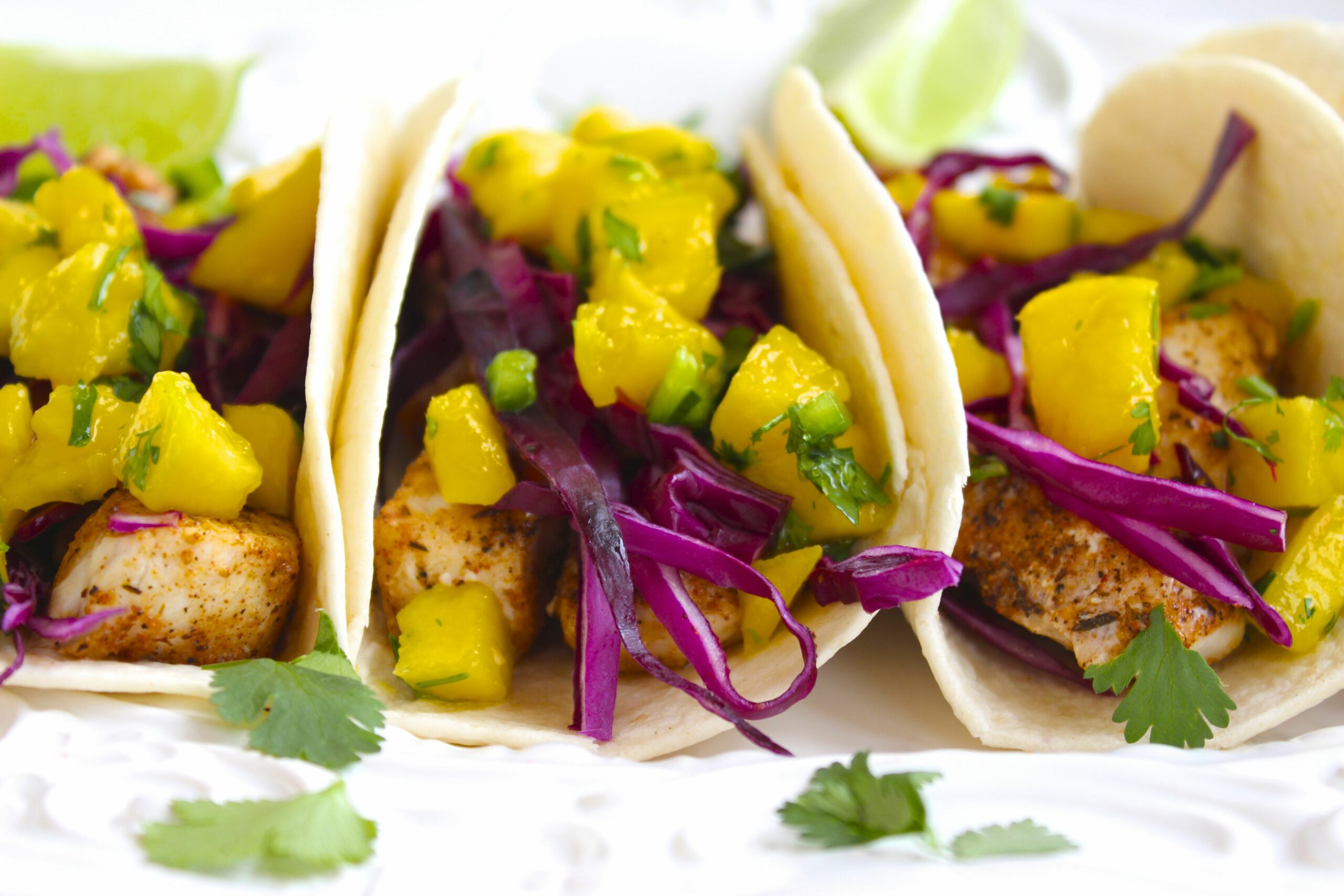 Fish Tacos with Mango Salsa - Recipe Fish With Mango Salsa
