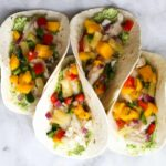Fish Tacos with Pineapple Mango Salsa | The Culinary Compass