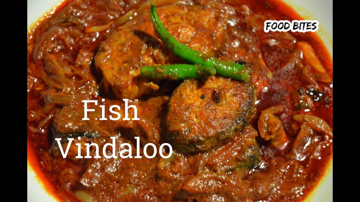 Fish Vindaloo |Goan fish vindaloo |King fish vindaloo |recipe by FOOD BITES - Recipe Fish Vindaloo