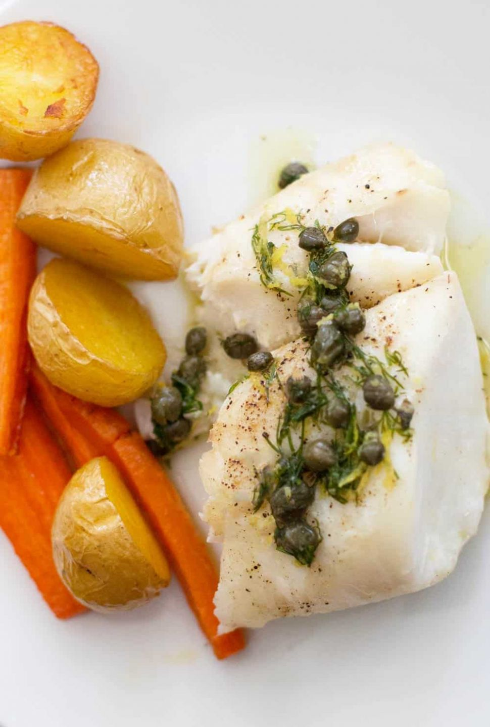 Fish with Lemon Caper Sauce - Recipe Fish With Capers