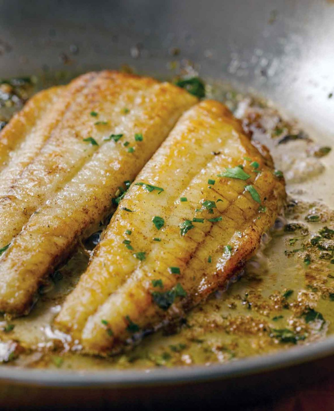 Flounder with Lemon Butter Sauce - Recipe Fish With Lemon Butter Sauce