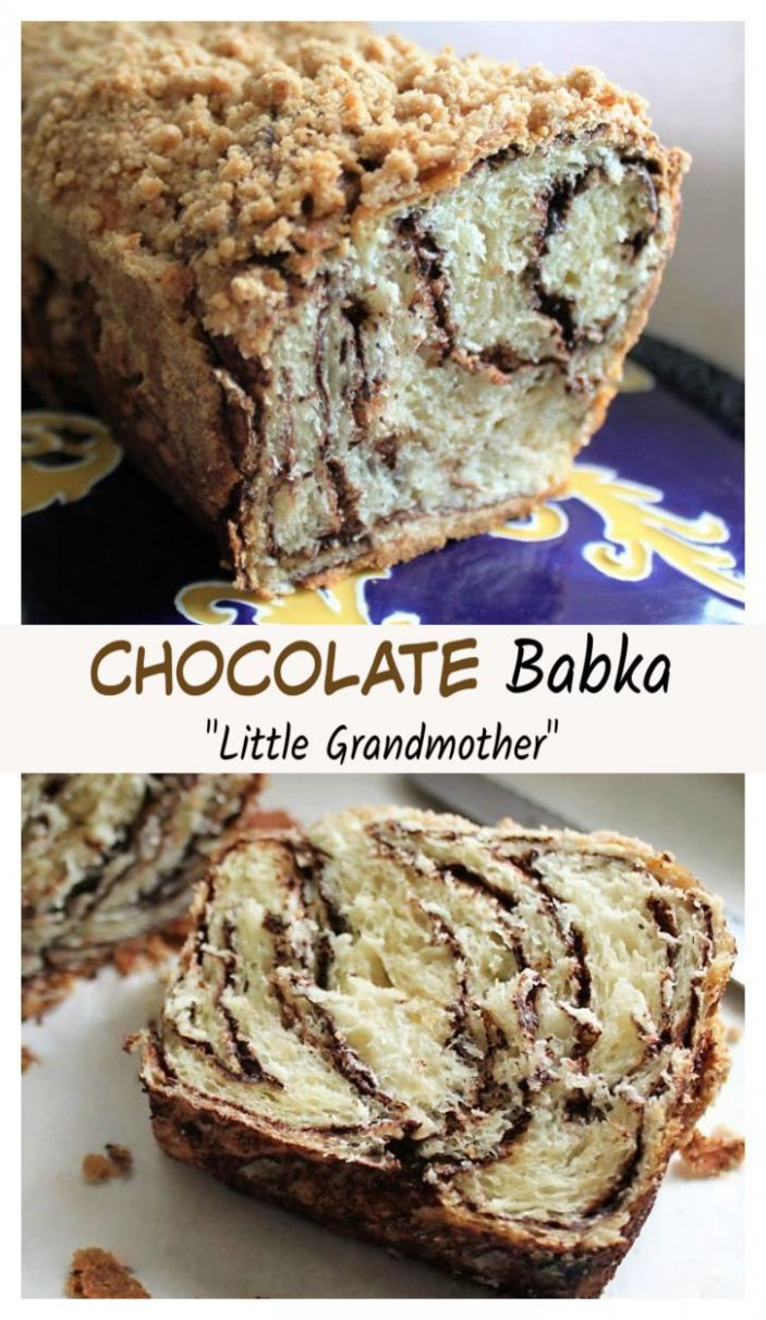 Fluffy Chocolate Babka - a yeast bread with chocolate swirls and a ..