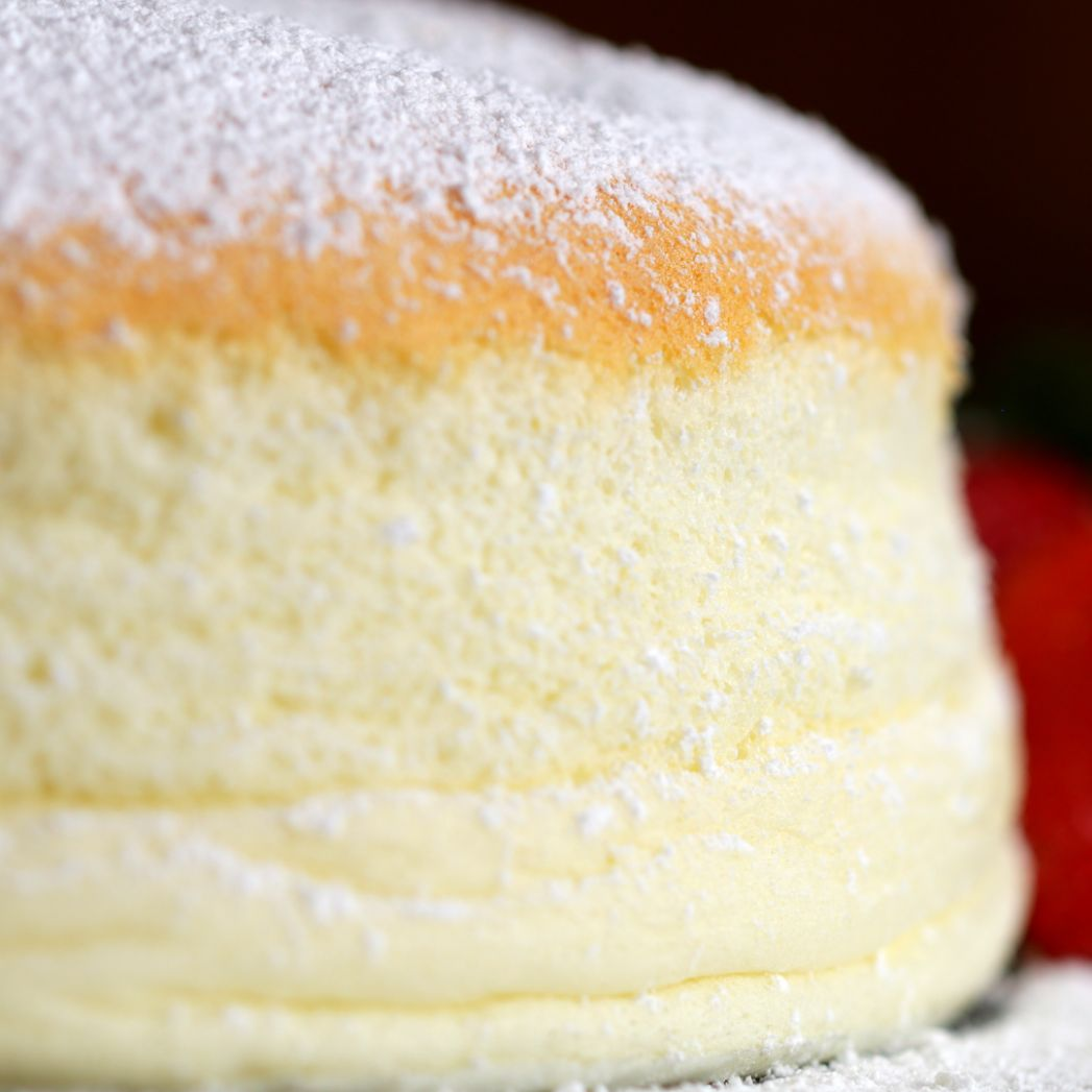 Fluffy Jiggly Japanese Cheesecake Recipe by Tasty - Dessert Recipes Japanese