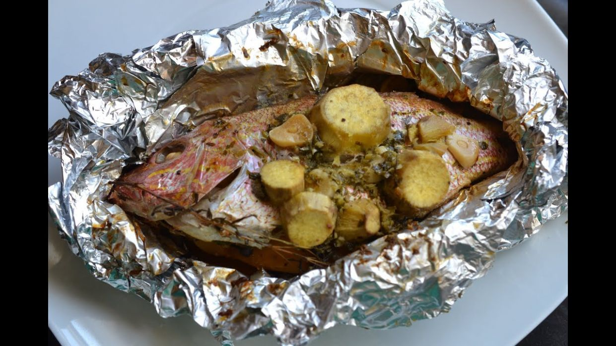 Foil Roasted Fish - Recipe Fish On The Grill In Foil