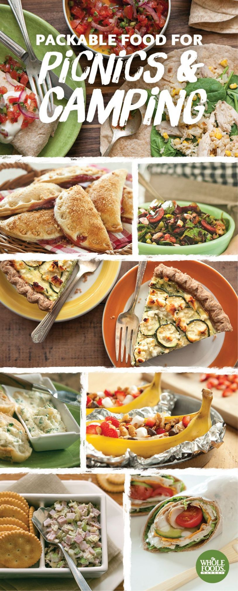 Foods for Picnics and Camping   Picnic foods, Food, Whole food recipes - Recipes Summer Buffet Lunch