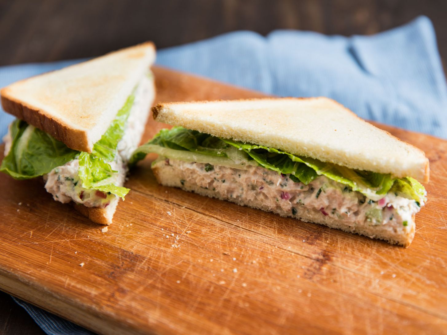For Better Tuna Salad Sandwiches, With Mayo or Without, Add More ..