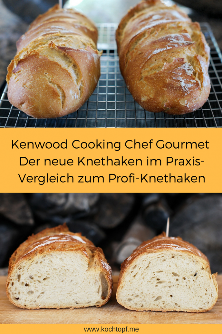 Französisches Landbrot - Recipes Kenwood Cooking Chef