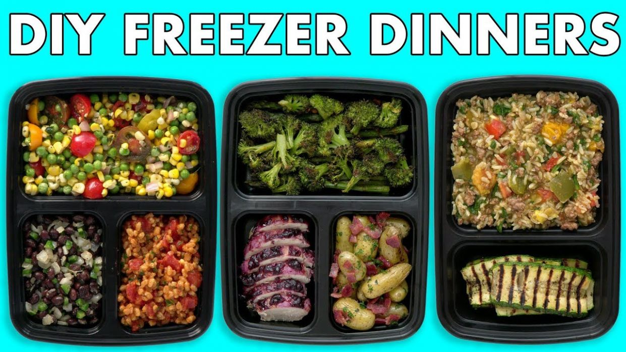 Freezer Meals! Healthy Meal Prep - Freezer Dinners! - Mind Over Munch - Healthy Recipes You Can Freeze