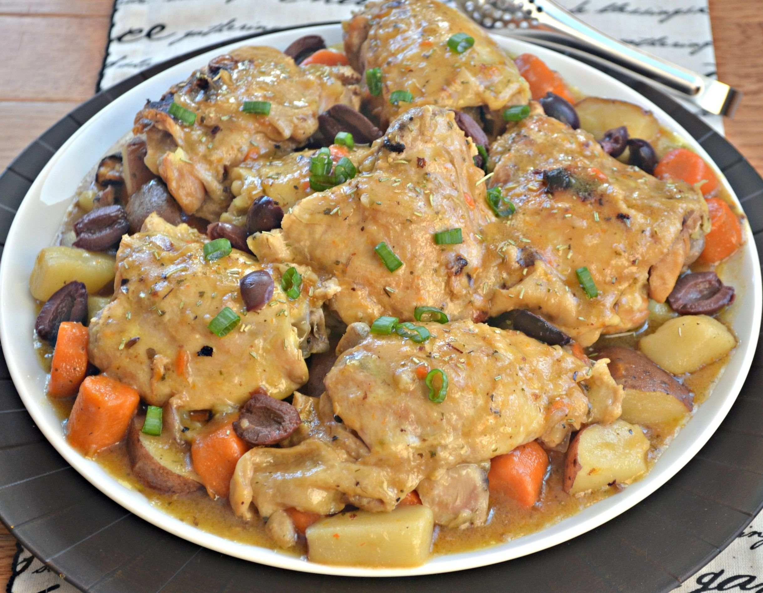French Chicken Thighs - Recipes Chicken Thighs Instant Pot