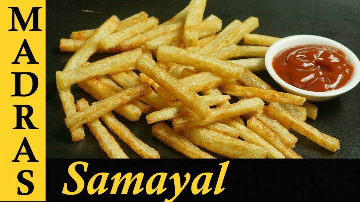 French Fries Recipe in Tamil | Potato Fries Recipe in Tamil | Crispy French  Fries Recipe - Potato Recipes In Tamil
