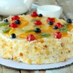 French Gâteaux Recipe (Layered Fruit And Cream Cake) By Archana's ..