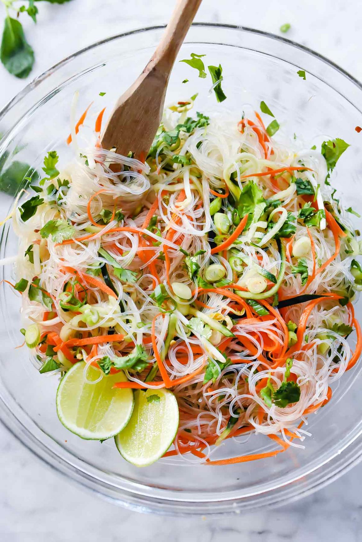 Fresh and Easy Vietnamese Noodle Salad - Recipes Rice Stick Noodles
