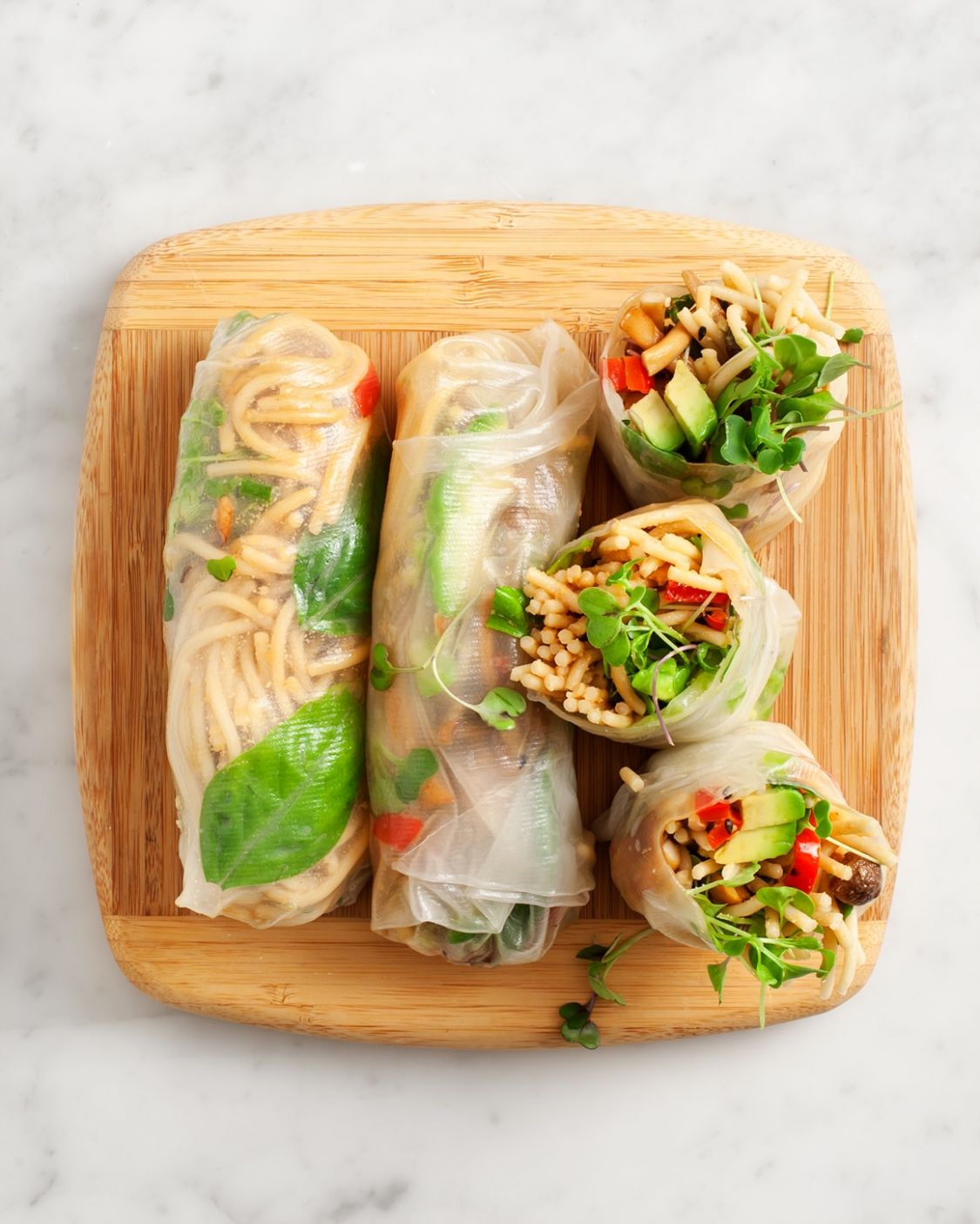 Fresh Spring Rolls - Recipes Rice Wraps
