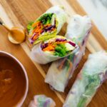 Fresh Spring Rolls With Peanut Sauce – Recipes Using Rice Paper