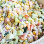 Fresh Vegetable Salad With Video • Bread Booze Bacon – Vegetable Recipes With Fresh Cream
