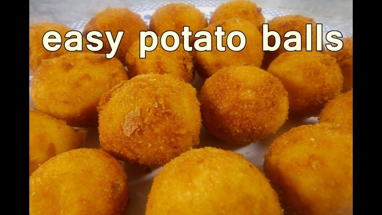 FRIED POTATO BALLS - Tasty and Easy Food Recipes For Dinner to make at home  - Cooking videos - Cooking Recipes And Videos