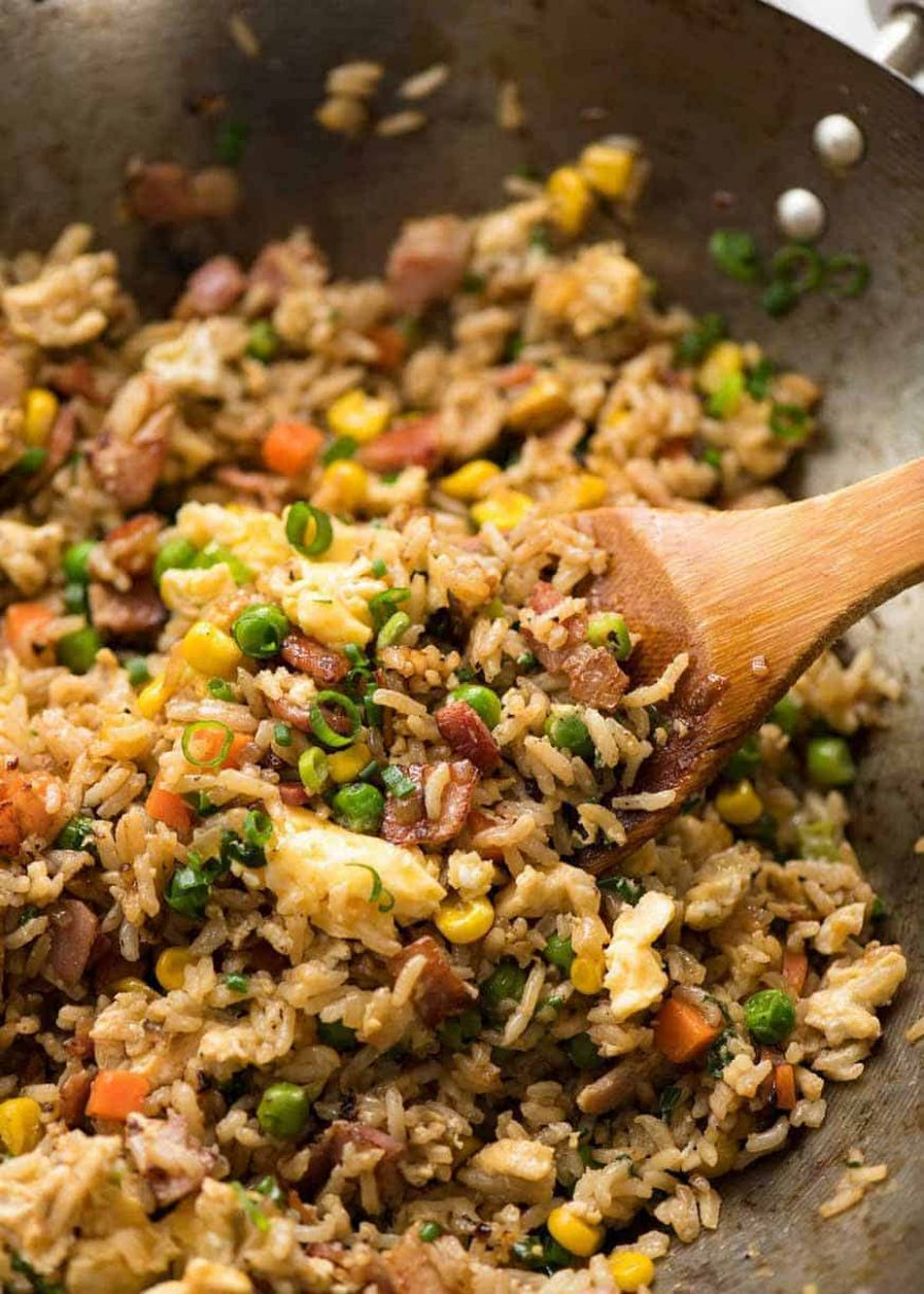 Fried Rice - Recipes Egg Fried Rice