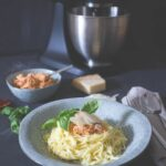 Frische Spaghetti Mit Ricotta Tomaten Pesto – Pasta Recipes Kitchenaid