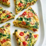 Frittata (with Bacon Spinach Tomato And Swiss) – Recipes Egg Frittata