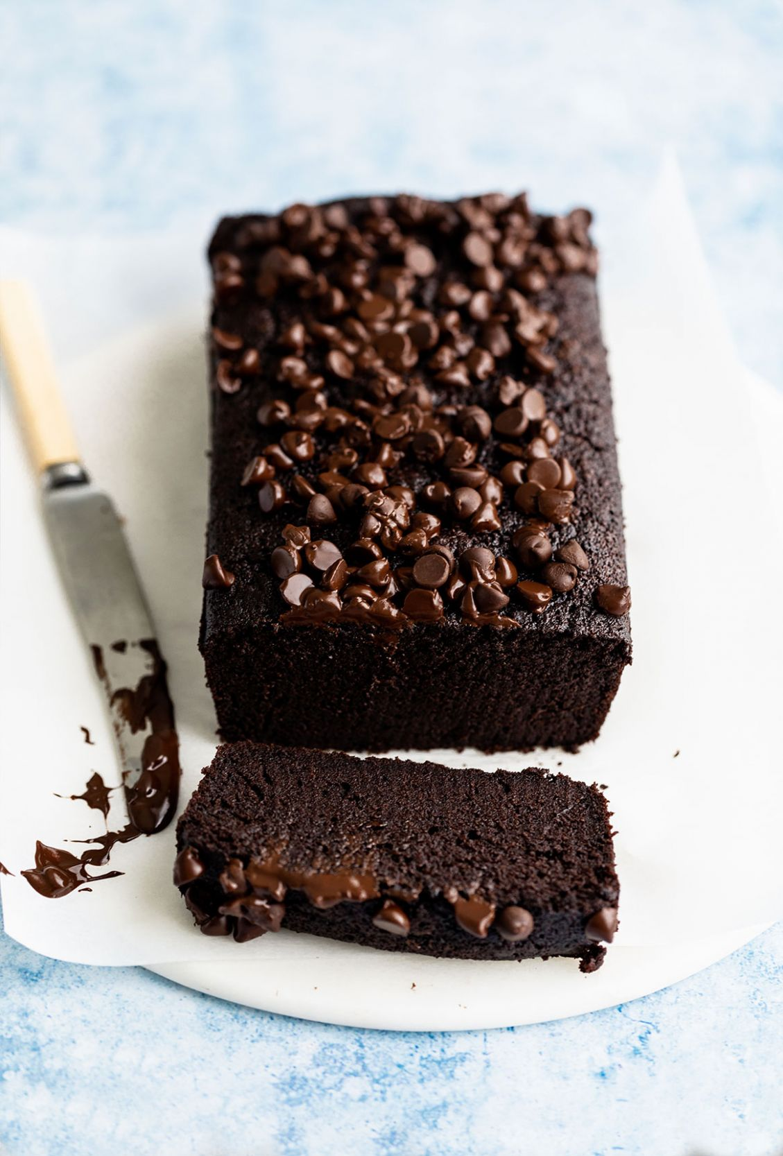 fudgy chocolate loaf cake - Recipes Chocolate Loaf