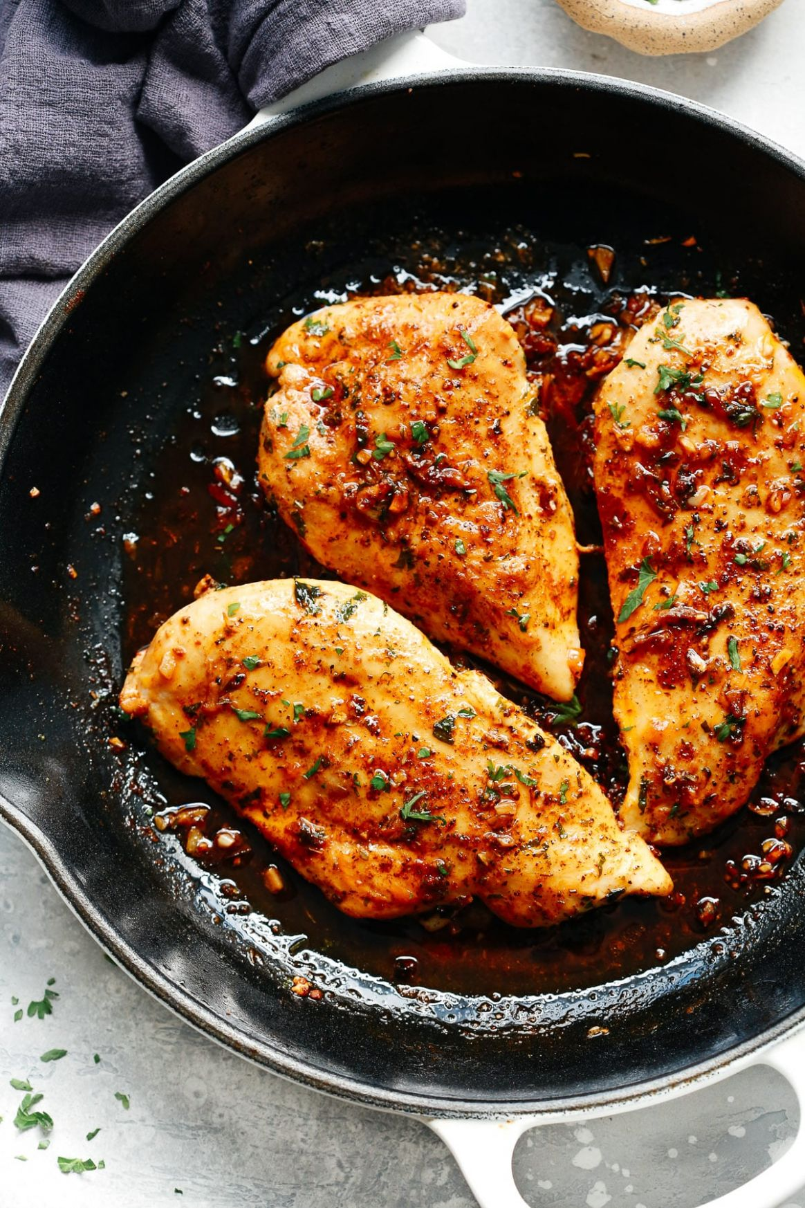 Garlic Butter Baked Chicken Breast - Recipes Chicken Breast Skillet