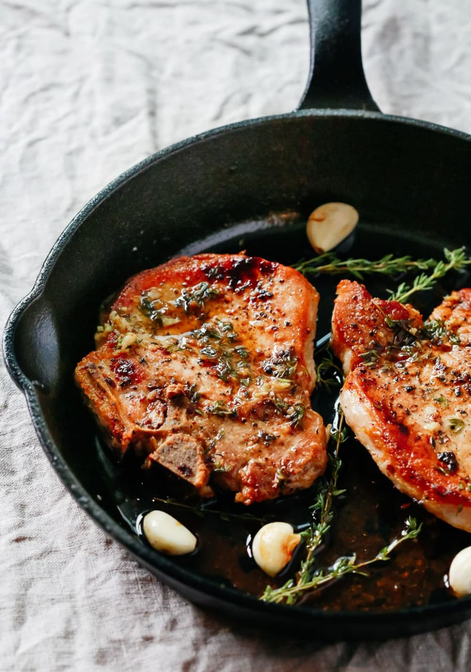 Garlic Butter Baked Pork Chops - Recipe Pork Oven