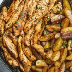 Garlic Butter Chicken And Potatoes Skillet – Potato Recipes Easy For Dinner