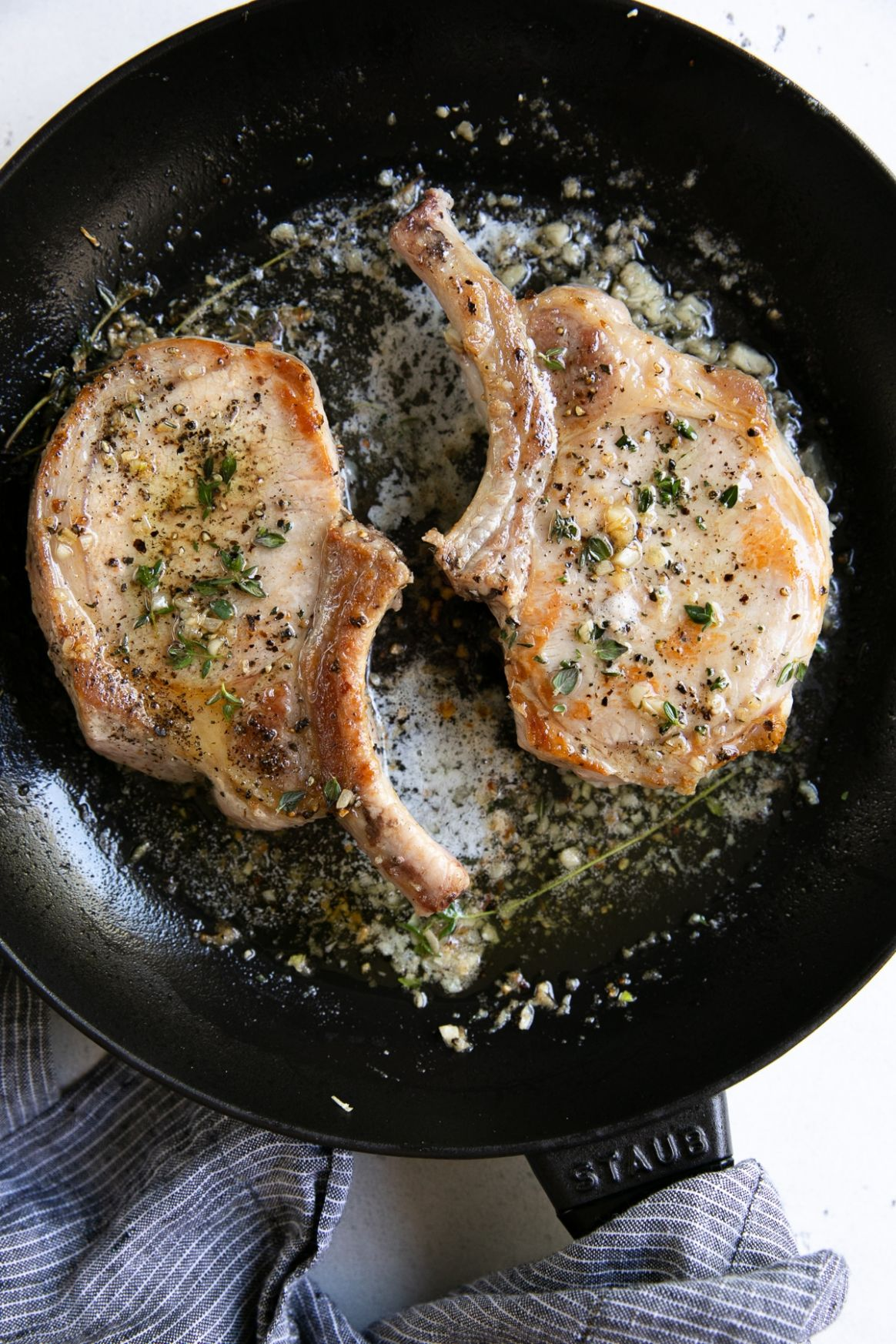 Garlic Butter Pork Chop Recipe