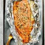 Garlic Butter Rainbow Trout In Foil – Recipe Fish On The Grill In Foil
