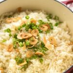 GARLIC BUTTER RICE – Recipes Rice & Eggplant