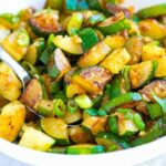 Garlic Butter Sauteed Zucchini – Vegetable Recipes As Side Dish