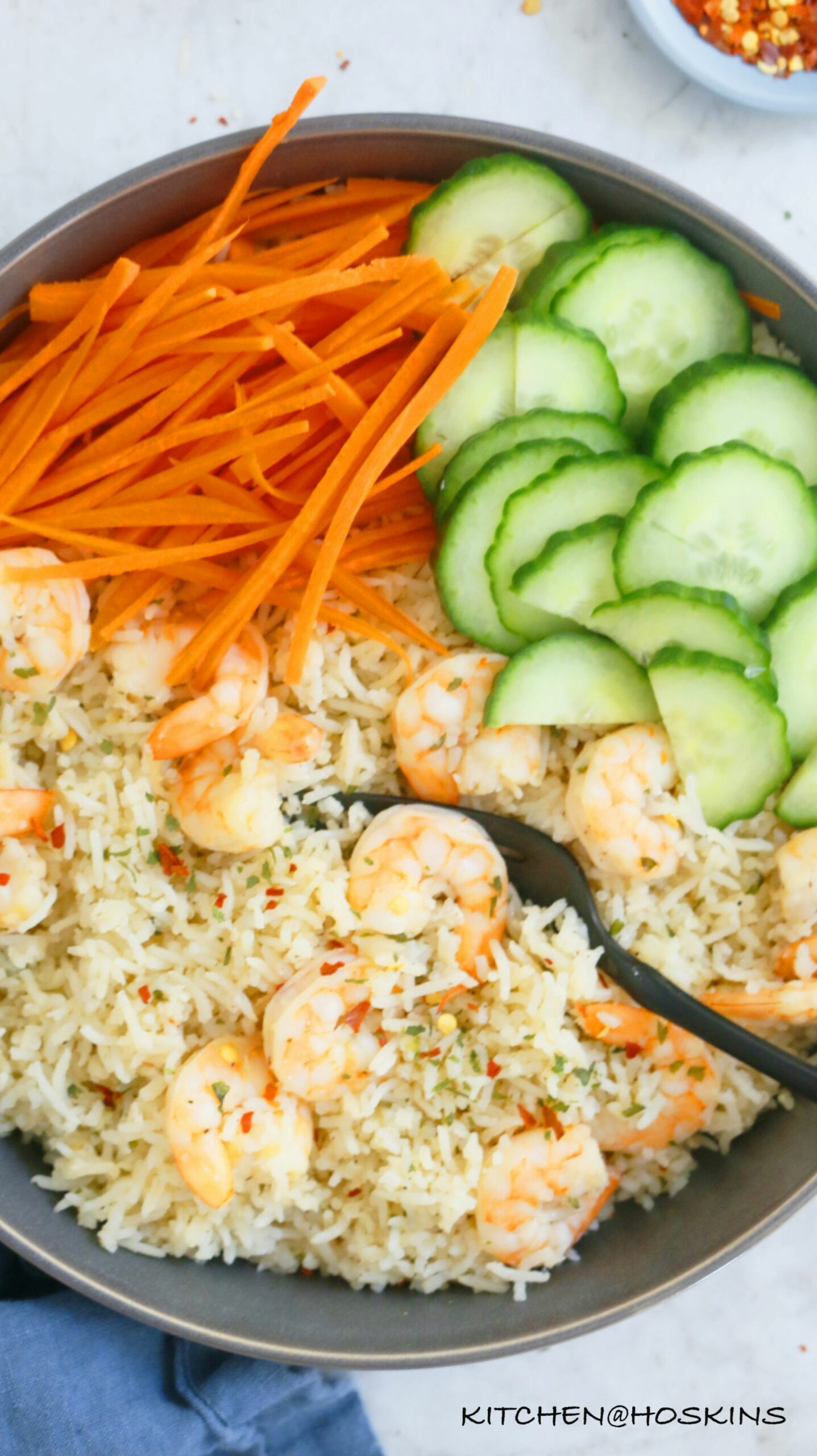 Garlic Butter Shrimp and Rice in Instant Pot - Rice Recipes Garlic Butter