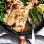 Garlic Lemon Chicken Breasts With Bacon Green Beans – Recipe Chicken Breast Green Beans