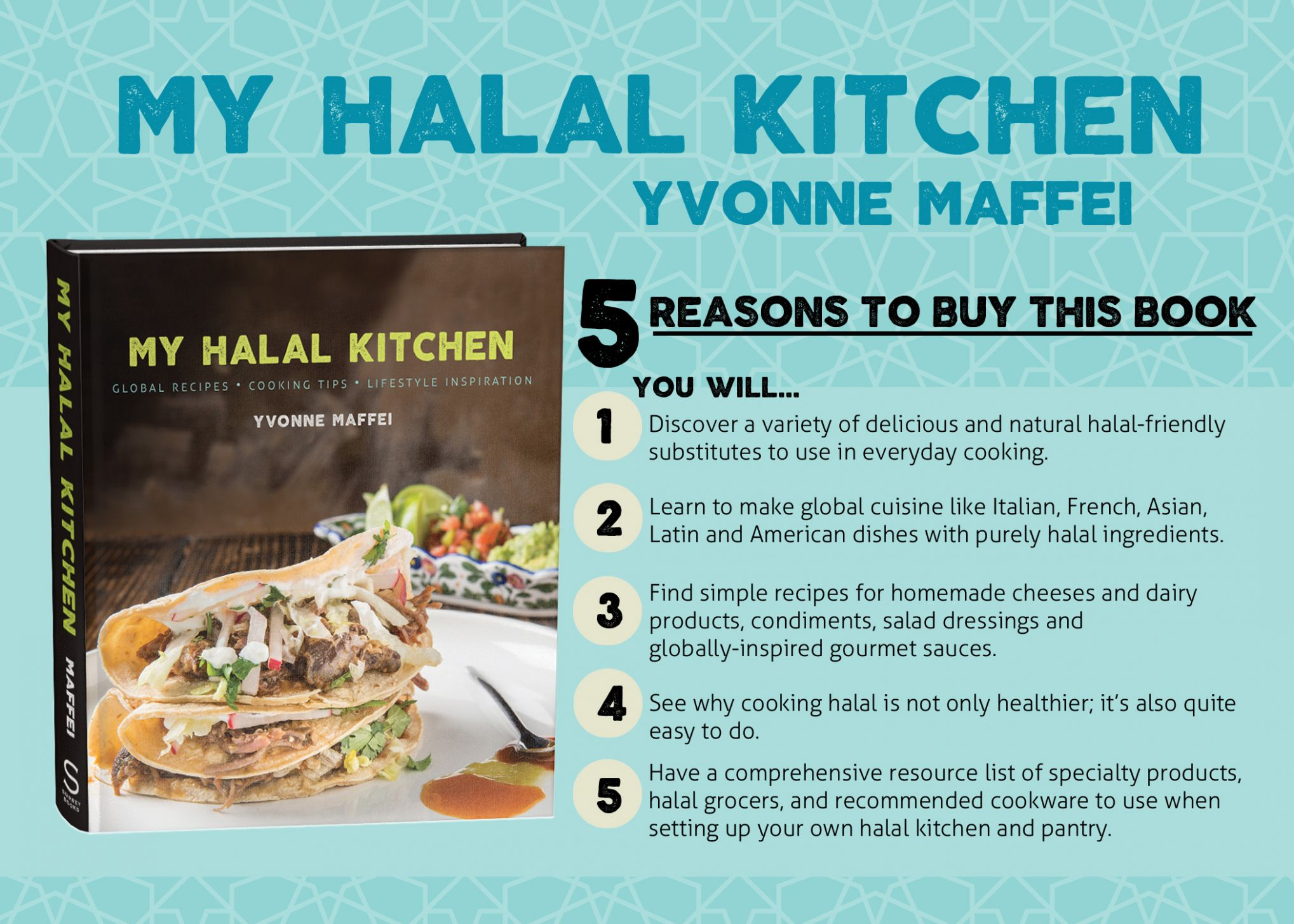 Get a Signed Copy of My Halal Kitchen: Global Recipes, Cooking ..