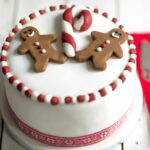 Gingerbread Man Christmas Cake – Easy Recipe Xmas Cake